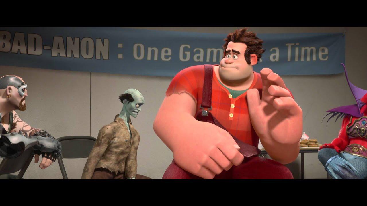 Vilde Rolf (Wreck-It Ralph Danish Trailer) -- Official Disney Movie | HD