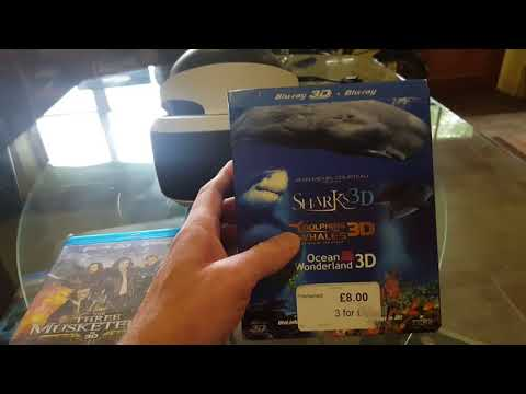 PSVR - 2 Very Special 3D Blu Ray Movie Reviews!