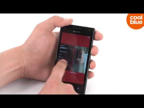 Huawei Ascend W1 videoreview en unboxing (NL/BE)