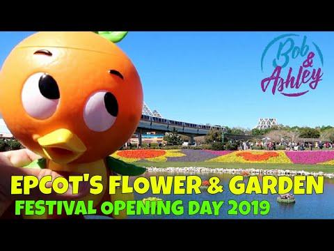 Epcot International Flower and Garden Festival Opening Day 2019