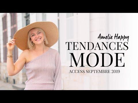 Tendances accessoires rentrée 2019 - mode femme
