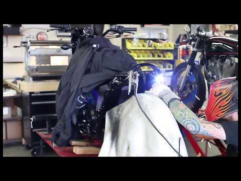 Harley Davidson Street750 Cafe Racer part 1