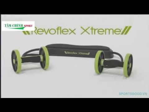 Máy tập cơ bụng Revoflex Xtreme   tập giảm mỡ tại nhà hiệu quả