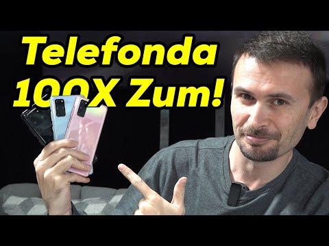 100x Zumlu S20 Ultra ön inceleme! 108MP Kamera, S20 ve S20+