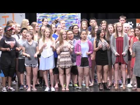 06.01.2017 Marshall Middle School Talent Show