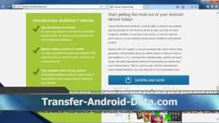 How To Use Wondershare Mobile Go For Android