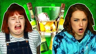 Irish People Try Irish Whiskey