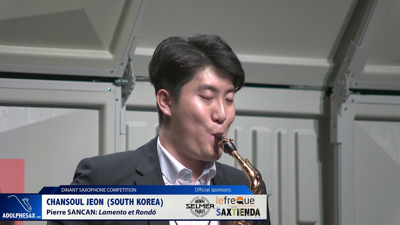 Chansoul Jeon (South Korea) - Lamento et Rondó by Pierre Sancan (Dinant 2019)