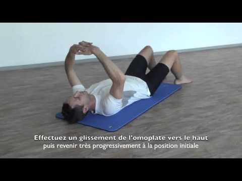 Séquence d'étirement postural cervical