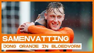 GOALS! Nederlandse talenten zijn weer in bloedvorm! ⭐ | Samenvatting Jong Oranje - Jong Wit-Rusland