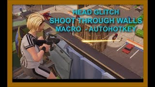 Fortnite SHOOT THROUGH WALLS! Ghost Peeking Macro | Macro Tutorial | AzirNA