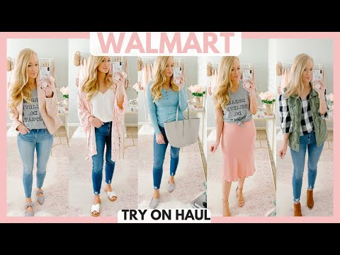 HUGE WALMART TRY ON HAUL 2019 | AFFORDABLE FALL OUTFIT IDEAS | Amanda John