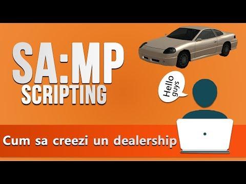 Cum sa creezi un dealership in SA-MP
