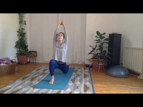 Jivamukti Yoga class with Raquel