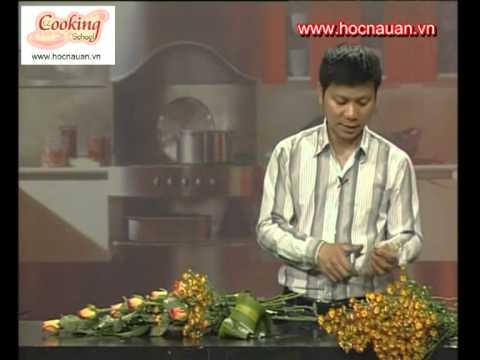 Cắm hoa nghệ thuật - nghệ nhân quốc tế Nguyễn Mạnh Hùng