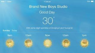 Video MXM (Brand New Boys)- Good Day Lyrics (Kakaotallk ver.) (Eng/Han/Rom) download MP3, 3GP, MP4, WEBM, AVI, FLV Januari 2018