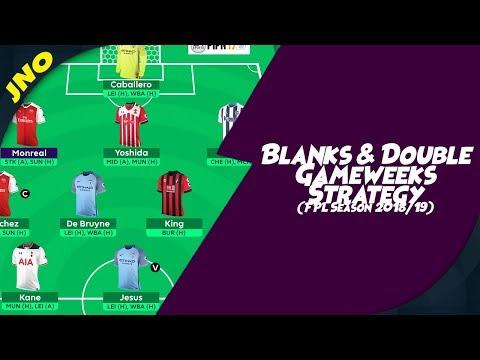 Fantasy Premier League - BLANKS & DOUBLE GAMEWEEKS - FREE HIT & WILDCARD STRATEGY - FPL Gameweek 24