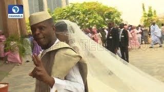 VP Osinbajo Gives Damilola To Oluseun Bakare In Marriage |Metrofile|