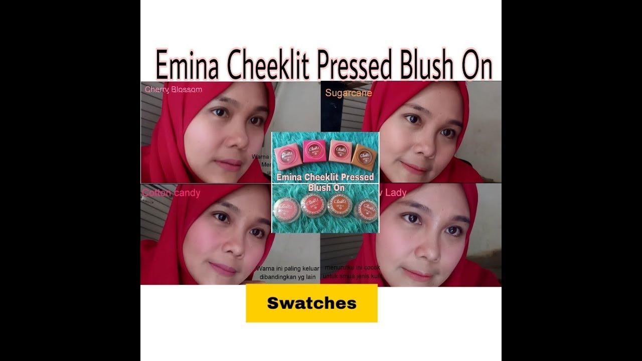 Emina Cheeklit Pressed Blush On Youtube