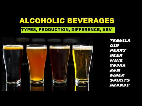 Alcoholic Beverages: Types, Difference And ABV