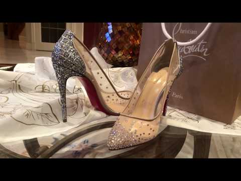outlet store 6112f 53990 Christian Louboutin Bridal - Follies Strass 100mm