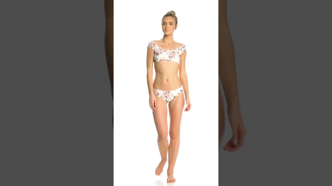 9a6971ef87 Billabong Float On By Off Shoulder Bikini Top
