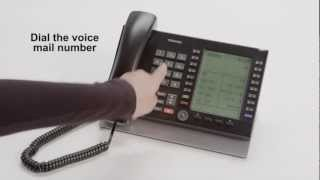 Setting up Voice Mail for the first time