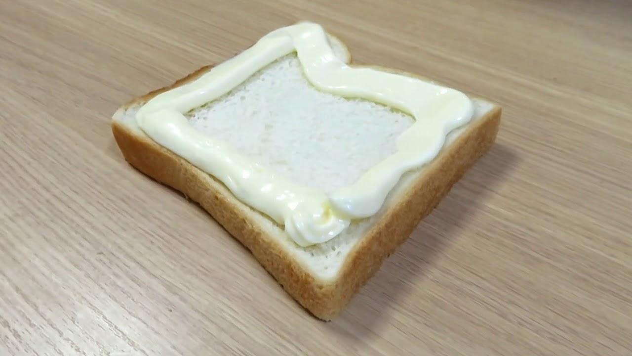 トースト たま こがし マヨ