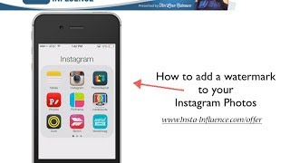 Tar'Lese Rideaux- How to Watermark Your Instagram Photos- Insta-Influence Instagram Training