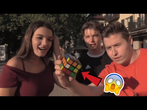 Zauberwürfel in einer SEKUNDE GELÖST😳 Best of Rubix Cube Tricks Compilation | FabianMagic