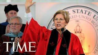 Senator Elizabeth Warren Delivers UMass Amherst Commencement Speech   TIME