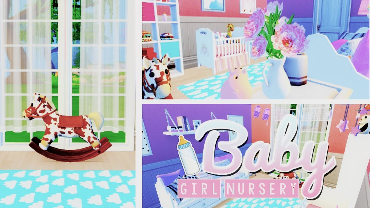 The Sims 4 Room Build Baby Girl Nursery 🍼 Chilli