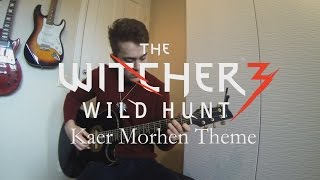 kaer morhen theme the witcher 3   fingerstyle guitar cover