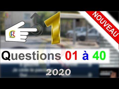 Nouveaux examen 👍 2019🕗 Code de la route 🇫🇷 Sixième partie - Panneaux de signalisation