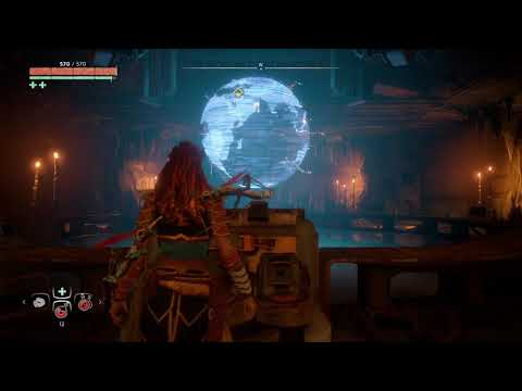 See? Aloy knows the Earth isn't flat! thumbnail