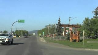 Travel Guide Road Trip Entering Chetwynd BC