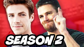 The Flash Season 2 and Arrow Season 4 Episode 1 Premiere Breakdown
