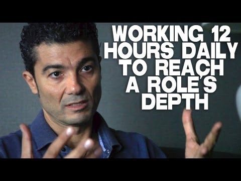 Working 12 Hours Daily On An Acting Role by Khaled Nabawy
