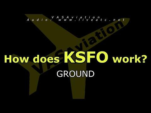 How does KSFO work? (GROUND)