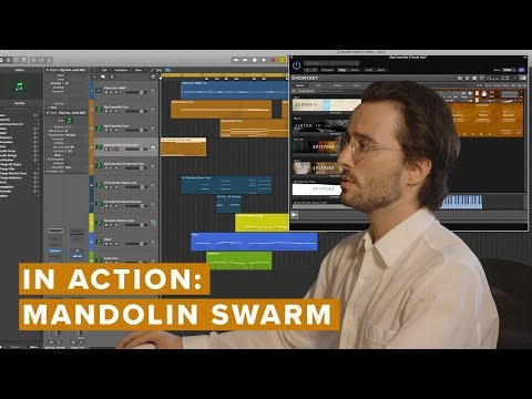 How to Colour in your  composition with Mandolin Swarm