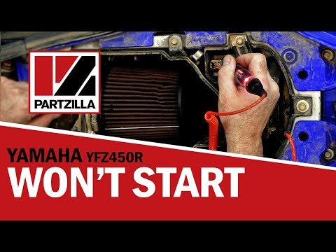 Atv Won T Start Yfz450r Yamaha Atv Not Starting Partzilla Com Youtube