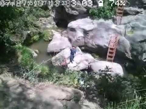 Տեսանյութ.«Սատանի կամրջից» մոտ 20 մետր բարձրությունից մարդ է ընկել. ահազանգ