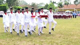 Download PENGIBARAN BENDERA MERAH PUTIH HUT RI 17 AGUSTUS 2016 KEC. WAY JEPARA, Mp3 and Videos