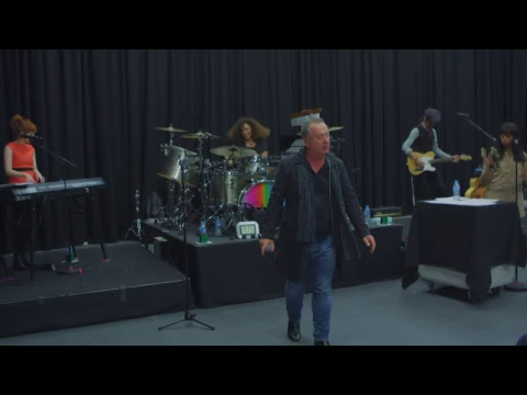 Simple Minds - Walk Between Worlds Live Rehearsal
