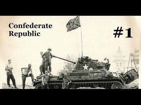 Hearts of Iron 4 - Confederate Republic
