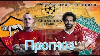 РОМА - ЛИВЕРПУЛЬ | Прогноз на футбол на сегодня | Ставки на спорт | прогноз на матч | Ставки |
