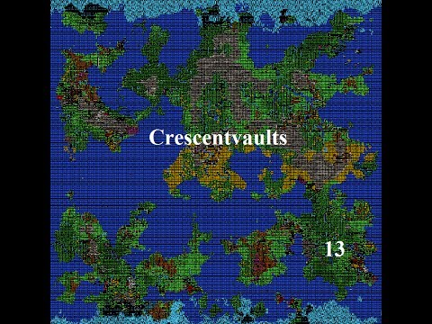 Dwarf Fortress Volcanic Fort - Crescentvaults 13