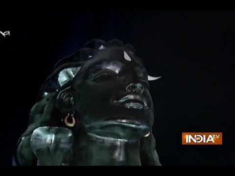 Coimbatore:PMModi Unveils 112-feet-tall Statue of Lord Shiva on Mahashivratri