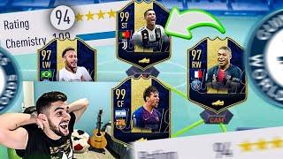 DRAFT DOS TOTY!! 194 É POSSÍVEL ASSIM!! FIFA 19 Ultimate Team