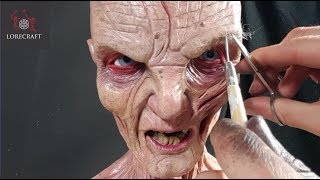 Sculpting Snoke - Star Wars, The Last Jedi Special - Timelapse sculpt and airbrush demo